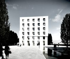 Baumschlager and Eberle Office Block proposal, Lustenau, Austria