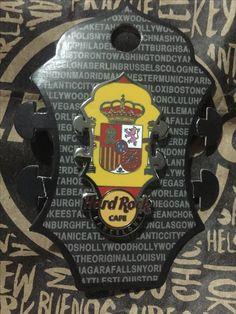 Hard Rock Pin Barcelona HR Core Headstock Flag