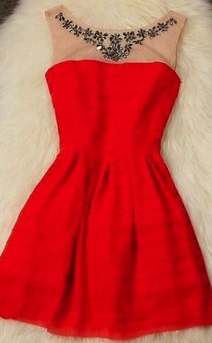 I would consider wearing this dress even though it is red. its gorgeous