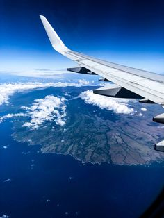 Flying above the Hawaiian Islands and viewing the beauty at a different level. Oahu Beaches, Hawaiian Islands, Airplane View, Beauty, Hawaian Islands, Beauty Illustration, Hawaii