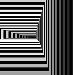 Vlatko Ceric (via Vlatko Ceric - Algorithmic Art - Computer Graphics) Black And White Abstract, Black N White Images, Black And White Design, Black White, Night Circus, Illusion Art, Geometric Art, Geometric Patterns, Op Art