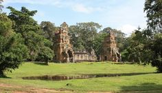 North Kleang in Angkor Thom, Siem Reap Camboda Date: Beginning of 11th century, Reign: Jayavarman V, Suryavarman I, Religion: Hindu  Read more: http://www.globaltravelmate.com/asia/cambodia/angkor/angkor-temples/546-siem-reap-north-and-south-kleangs.html#ixzz2XbHXejbU