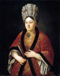R. N. Stroganova by Ivan Nikitich Nikitin, c. beginning of 18th century