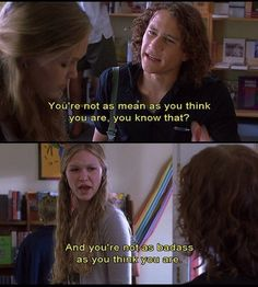 "You are allowed to fight back. | 21 Lessons You Learned From ""10 Things I Hate About You"""