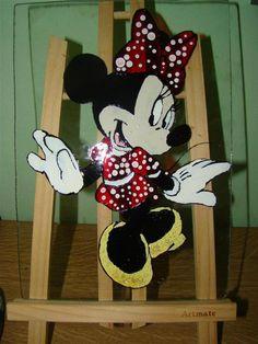 Minnie painting 42cm x 30cm