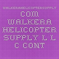 WalkeraHelicopterSupply.com Walkera Helicopter Supply L.L.C. Contact us page