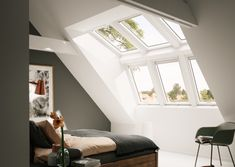 How to Convert Your Attic Into Living Space? Loft Conversion Bedroom, Home, Bedroom Inspirations, Loft Spaces, New Homes, House, New Room, Roof Window, Attic Rooms