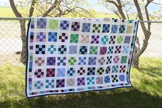9-patch quilt I made for Cindy