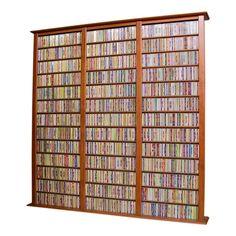 storage and organization , dvd storage solution ideas : industrial