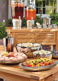 Learn how to throw the best outdoor parties this summer.
