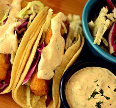 Baja Sauce for Fish or Shrimp Tacos #MyAllrecipes #AllrecipesFaceless @allrecipes #AllrecipesAllstars