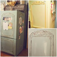 Those who love this French style can easily turn a common household item into a trendy work of art using paint, glue, and plastic, wooden, or polyurethane moldings.