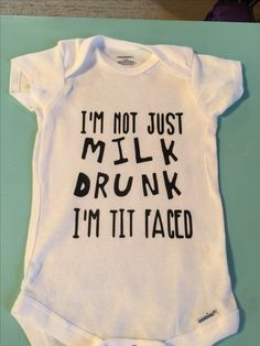 Baby Shirts, Onesies, Baby Silhouette, Everything Baby, Cricut Creations, Vinyl Crafts, Baby Crafts, T Shirts With Sayings, Baby Bibs