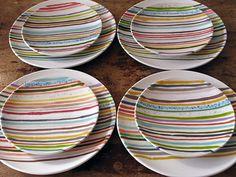 leah rosenberg: plates & napkin sets