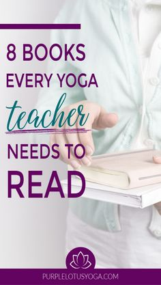 Search for yoga books and you'll get plenty of options. Start your reading with these 8 books every yoga teacher needs to read. Meditation Scripts, Yoga Books, Lotus Yoga, Yoga Lessons, Yoga Philosophy, Teacher Books, Yoga Music, Partner Yoga, Physical Education Games