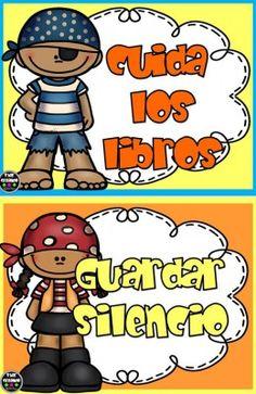 145 Mejores Imágenes De Biblioteca De Aula Classroom Manners Y School