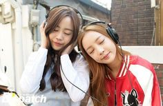"Youngji and Hara on ""A Style for You Episode 6″"