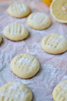 Lemon Butter Cookies - A Teaspoon of Happiness