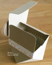 Stampin´Up'Diamantbox*Diamantverpackung<#Verpackung selber basteln#InColor#Playful Backgrounds#
