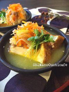 簡単!節約おしゃレシピ【厚揚げの野菜ひき肉あんかけ】 by SHIMA ...