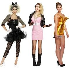 Madonna Costumes for Women at Simplyeighties.com Best 80s Costumes, Cool Halloween Costumes, Halloween Dress, Diy Costumes, Costumes For Women, Halloween 2018, Diy Halloween, 1980s Fancy Dress, Ladies Fancy Dress