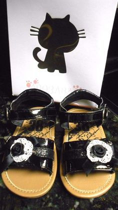 Black Lace SandalToddler 4 - NWB! Cute! #Sandals