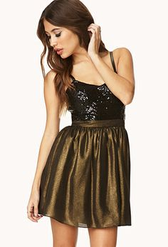 I LOVE this dress But th back is way to low for me :( Glamorous Combo Dress | FOREVER21 - 2000090439