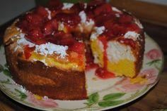 Daffodil Cake Easter Dinner Cake Recipe