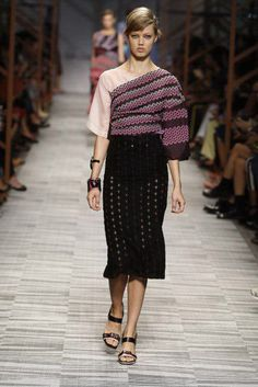 Lindesy Wixson Freedom according to Missoni Spring Summer 2014