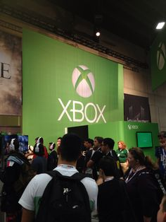 Xbox booth 2013