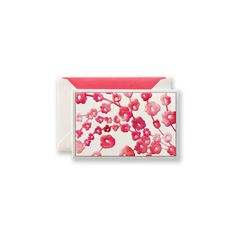 Vera Wang Embossed Spring Blossoms Watercolor Notes