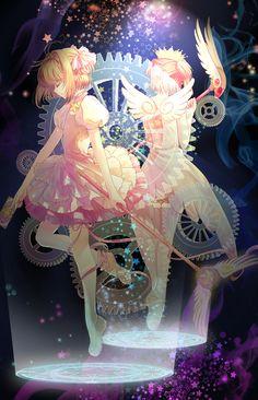 Serie de manga escrita e ilustrada por el grupo de mangaka CLAMP, y cuya adaptación al anime fue dirigida por Morio Asaka. La historia se centra en Sakura Kinomot ilustrada en etsa imagen