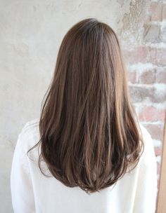 Ideas Haircut Straight Hair Long Hairstyles - hair styles for short hair Haircuts Straight Hair, Long Face Hairstyles, Short Straight Hair, 1940s Hairstyles, Classic Hairstyles, Side Hairstyles, Medium Asian Hairstyles, Long Hairstyles With Layers, Straight Hairstyles For Long Hair