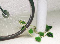 ツタのようなかわいいワイヤーロック – ivy -