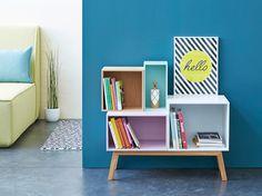 Décoration et inspiration pour la maison - Frenchy Fancy Kids Room Furniture, Diy Furniture, Buffet Teck, Deco Buffet, Deco Boheme Chic, Sofas, Home Suites, Hygge Home, Wall Boxes