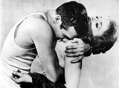 Paul Newman + Piper Laurie in The Hustler (1961)