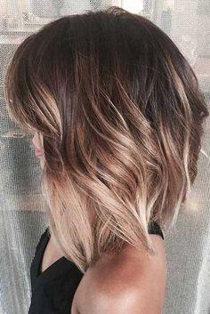 Kurze Haare Stil Farbe