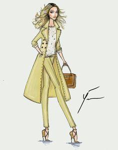 They Are Wearing: LFW by Yigit Ozcakmak womensweardaily