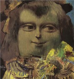 Mona Lisa at the Age of Twelve Years - Fernando Botero