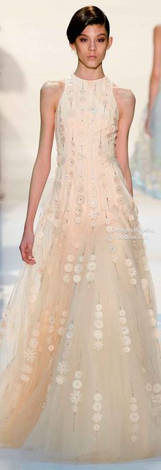 Georges Hobeika Spring 2014 Couture