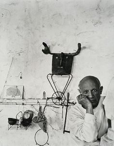 Portrait of Pablo Picasso by Arnold Newman, 1950's
