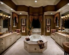 Now that's a luxury master bath!