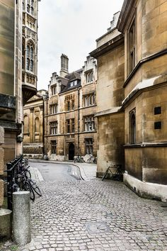 Street in Cambridge, England