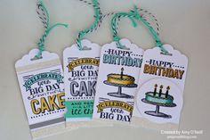 Big Day Birthday Tags — Monday Montage #37