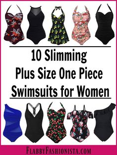 f0cabab64e Looking for the perfect plus size swimsuit that will help camouflage your  trouble areas? Look