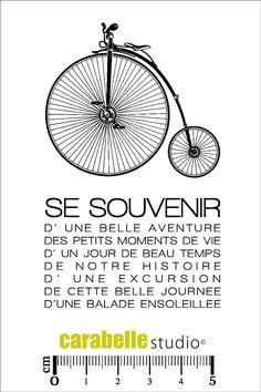 Tampon : Se souvenir - Art Stamp