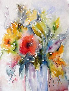 bouquet d'un jour heureux by veroniquepiaser-moyen, via Flickr
