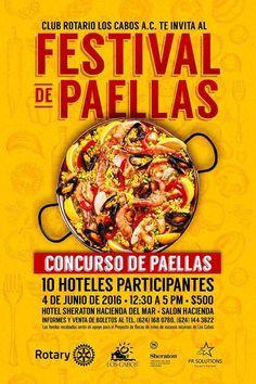 Festival de la paella, 04-jun, Hotel Sheraton Hacienda del Mar, Cabo San Lucas