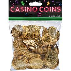 Amscan Casino Coins, 144/pkg, Walmart
