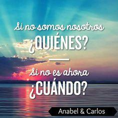 Puedes ser TU y el momento AHORA!!! #internetmarketing es tu negocio y #anabelycarlos te guiamos SÍGUENOS!!! blog.carlossanin.com